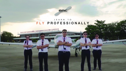 Learn to fly professionally with BAC